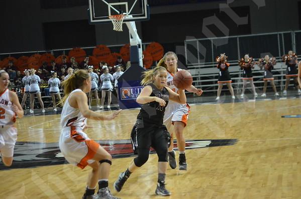 2/13/16 Girls' basketball: Class B North quarterfinal: Ellsworth vs. Winslow