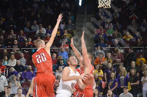 2/17/16 Boys' basketball Class C North quarterfinal: Bucksport vs. Dexter