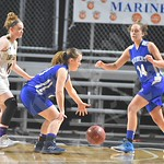 2/22/18 Deer Isle-Stonington Playoff Basketball Game (Girls — Woodland)