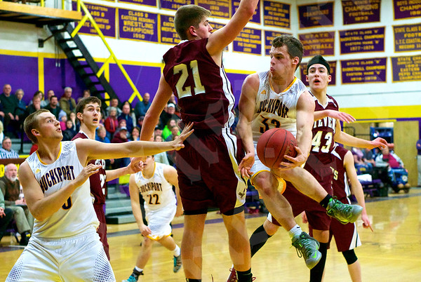 Boys' basketball: Bucksport vs. GSA 2/3/2015