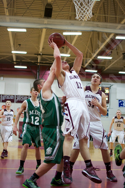 Boys' basketball: Ellsworth vs. MDI 2/11/2015