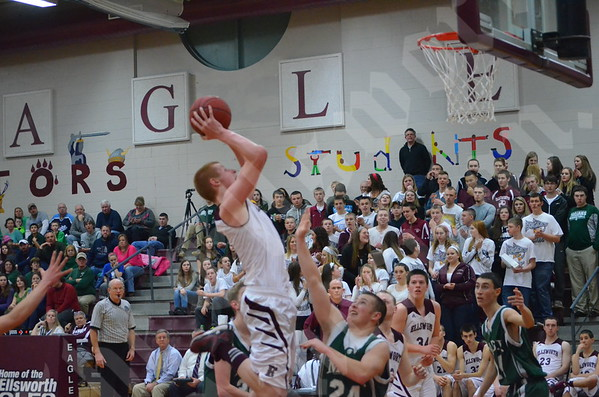 Boys' basketball: MDI vs. Ellsworth 2/7/2015
