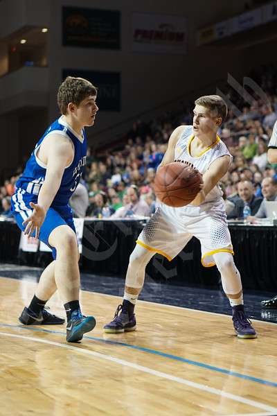 2/19/2016 - Boys' Class C North semifinal : Bucksport vs Hodgdon