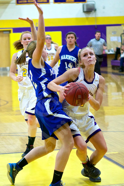 Girls' Basketball: Bucksport vs. DI-S 12/11/2014