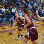 Girls' basketball: Ellsworth vs. Caribou 1/24/2015