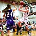 Girls' basketball: Ellsworth vs. John Bapst 12/12/2014