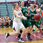 Girls' basketball: Ellsworth vs. Old Town 1/14/2015