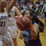 Girls' basketball: Ellsworth vs. Presque Isle 1/23/2015