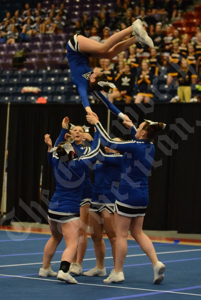 2/11/17 State Cheer Championships