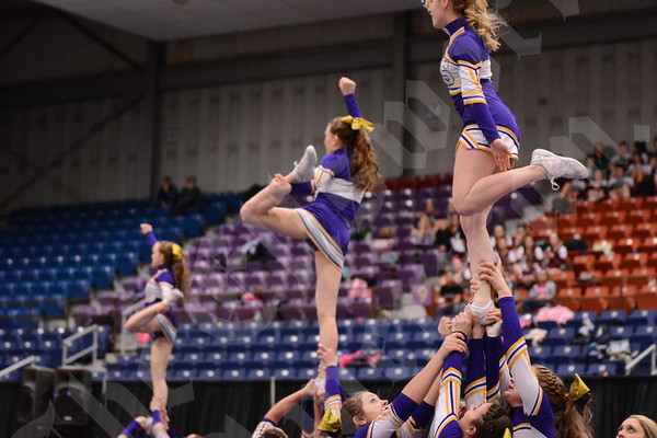 State Cheering Competition 2/7/2015
