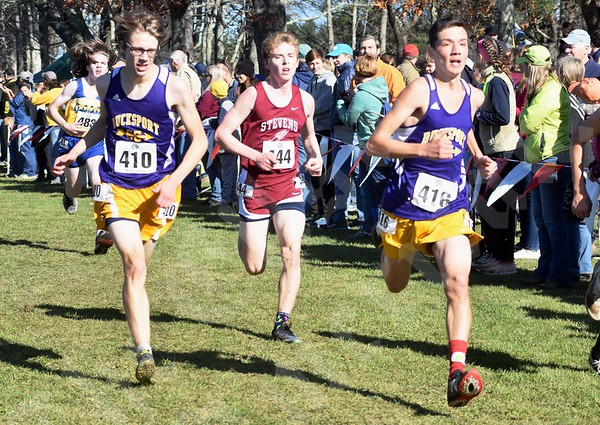 11/2/19 State Cross-Country Championships (Twin Brook Recreation Area, Cumberland)