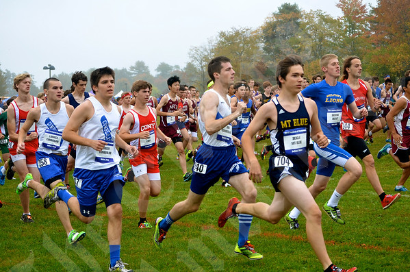 High School XC - Festival of Champions 10/4/2014