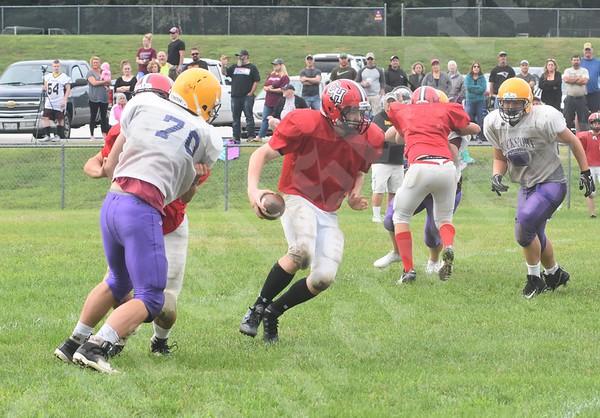 8/18/18 Bucksport Football Scrimmages (Ellsworth/Sumner, Washington Academy, Camden Hills)