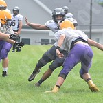 8/18/18 Bucksport Football Scrimmages (Ellsworth/Sumner, Washington Academy, Camden Hills)
