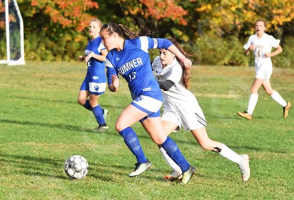 10/12/18, 10/15/18 Sumner Soccer Games (Girls, Boys — Bucksport)