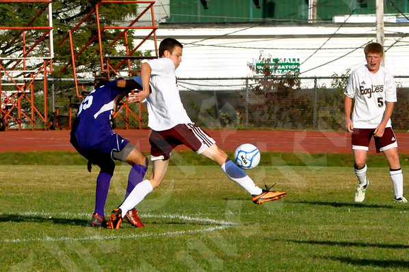 High School Boys - Ellsworth vs. John Bapst 10/9/2013