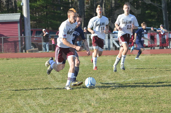 High School Boys - Ellsworth vs. Presque Isle 11/2/2013