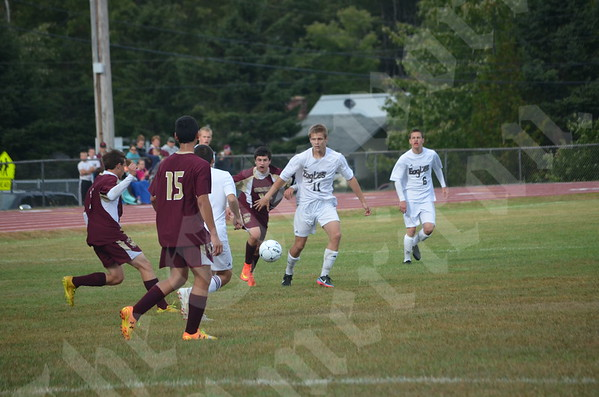 High School Boys - Ellsworth vs. Caribou 9/20/2014