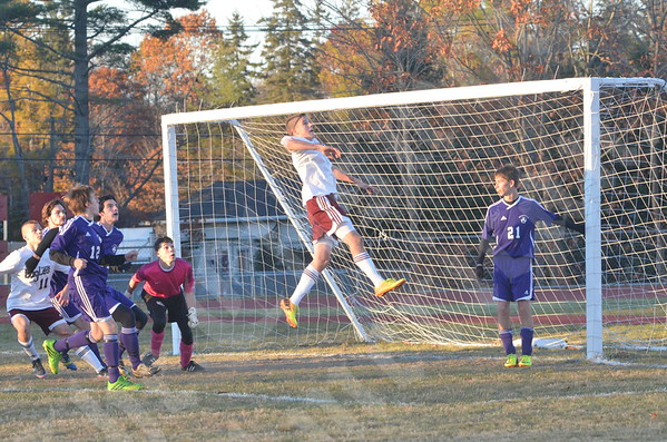 High School Boys - Ellsworth vs. Waterville 10/30/2013