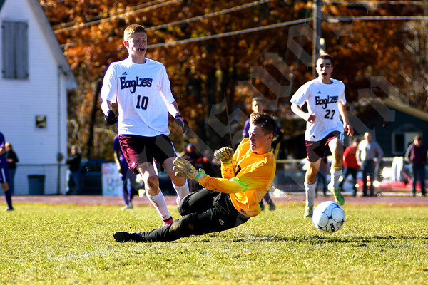 Boys' soccer: Ellsworth vs. Waterville 10-31-2015