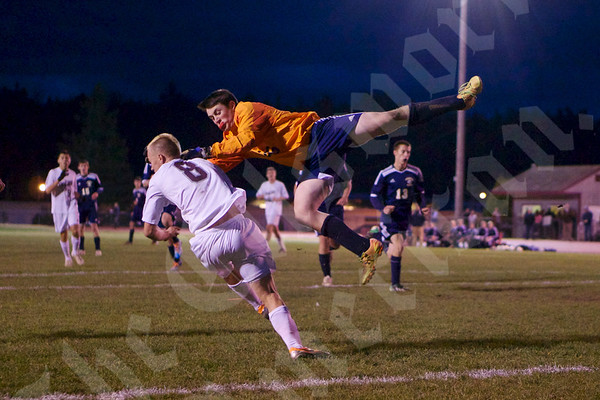 High School Boys - Ellsworth vs. Medomak Valley 10/31/2014