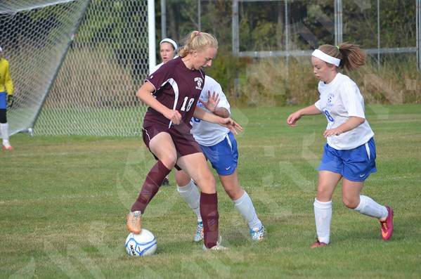 High School Girls - Sumner vs. GSA 9/25/2014