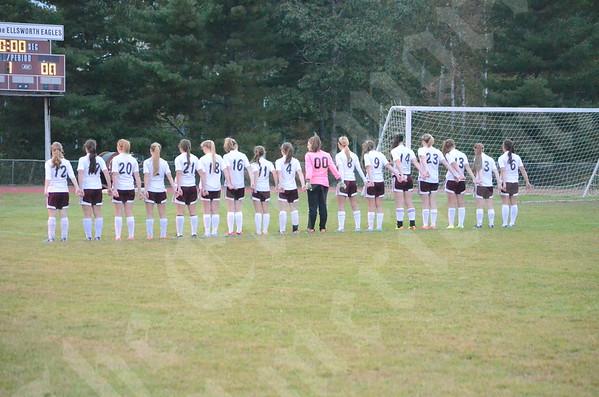 High School Girls - Ellsworth vs. MDI 9/26/2013