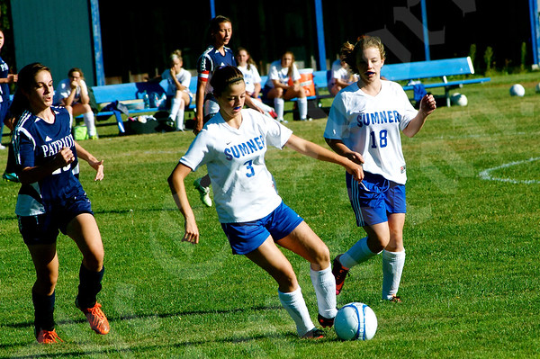 High School Girls - Sumner vs. Bangor Christian 9/10/2014