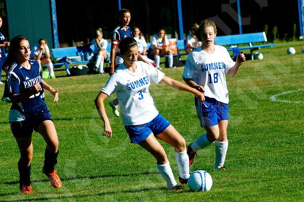 High School Girls - Sumner vs. Bangor Christian 9/10/2014