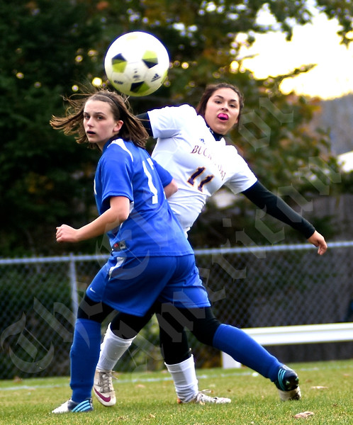 Girls' soccer: Bucksport vs. Sumner 10/23/2015