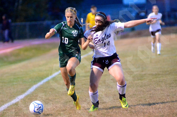 High School Girls - Ellsworth vs. MDI 9/29/2014