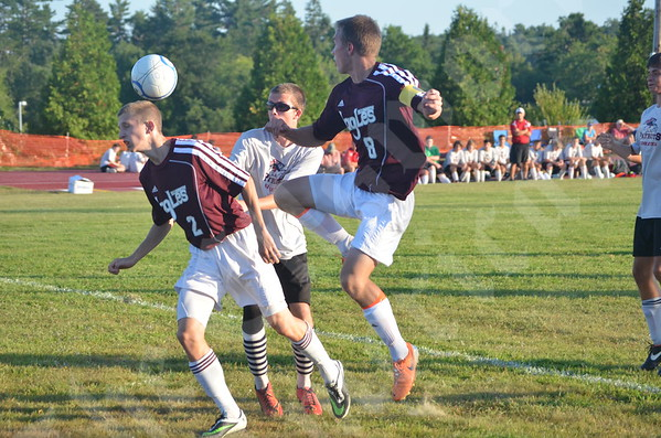 High School Boys - Ellsworth vs. Gray-New Gloucester 8/26/2014