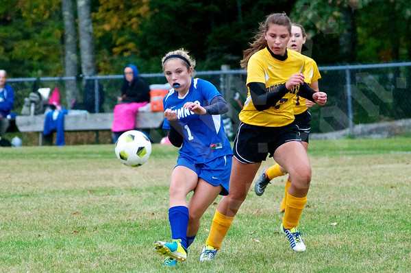 High School Girls - Bucksport vs. Sumner 10/1/2014