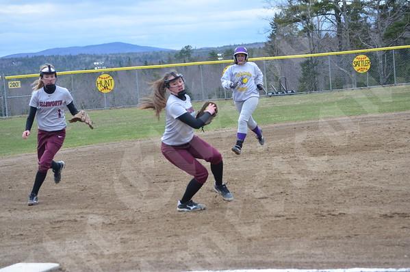Softball; Bucksport at Ellsworth; 4/28