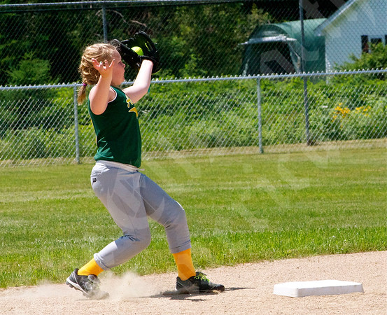 Softball; Little League All-Stars 9-10; Ellsworth vs Acadians; 7/12