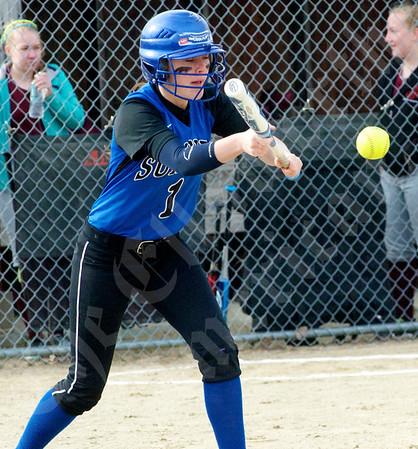 Softball; Sumner at GSA; 4/22