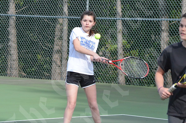 Tennis; DI-S vs GSA, 4/25