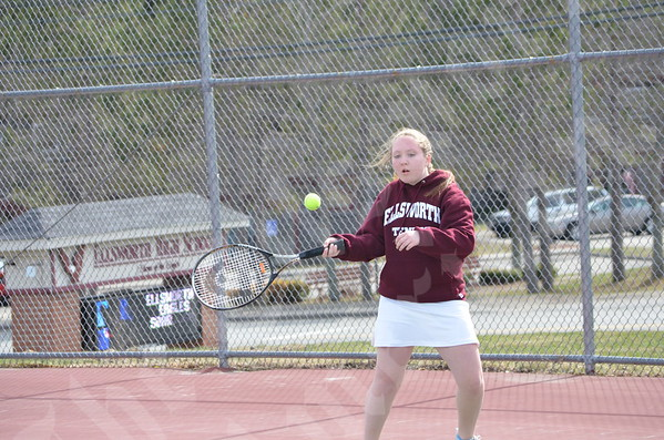 Tennis: Hermon at Ellsworth 4/20
