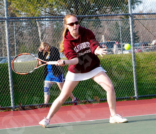 Tennis; Hermon vs Ellsworth; 4/29