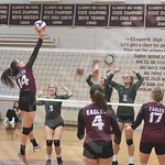9/26/18 Ellsworth Volleyball (Mount Desert Island)