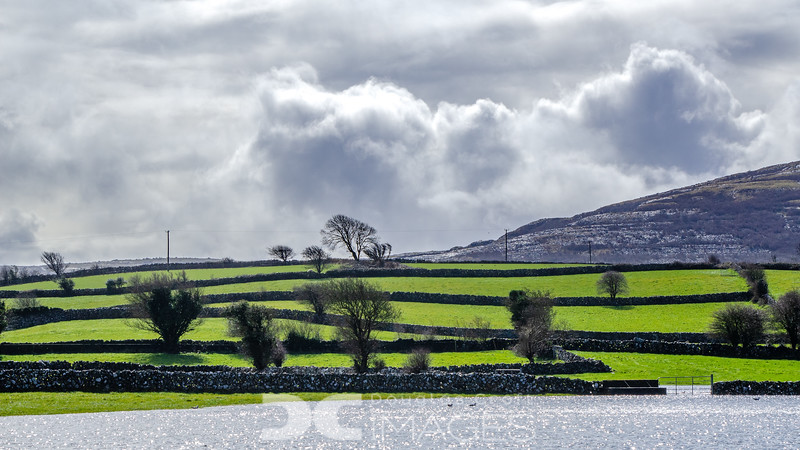 Countryside in the Burren