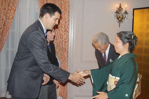 Meeting Consul General Watanabe