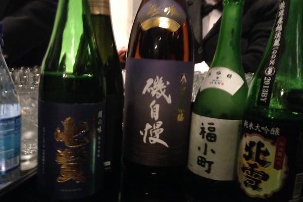 Japanese sake tasting