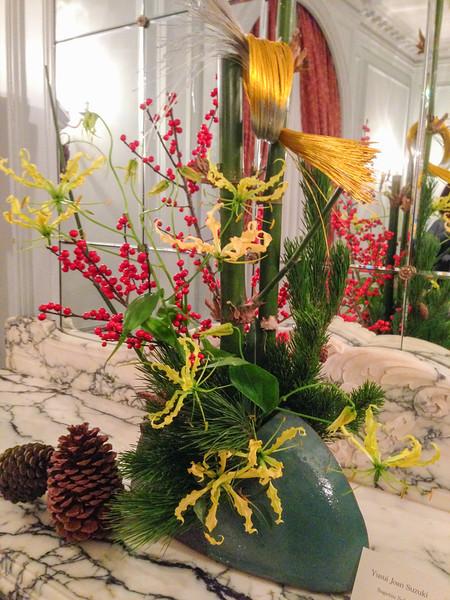 Displays of Ikebana, Japanese flower arranging