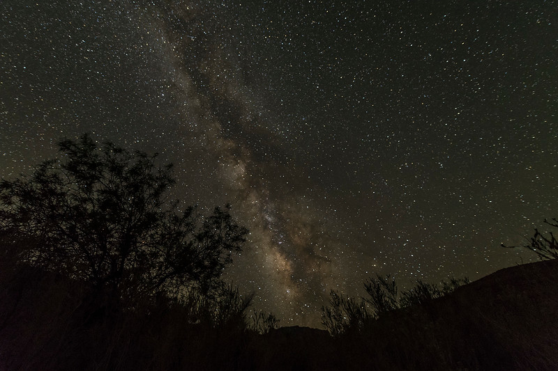 The Milky Way, from maybe the 2nd or 3rd campsite