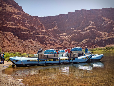 Lee's Ferry in Marble Canyon, Our starting point...