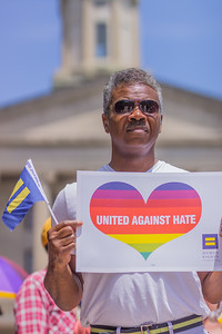 The Equality Rally for Unity and Pride - Nashville 6/11/17
