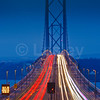 LDE_06 Night-time, Forth Road Bridge