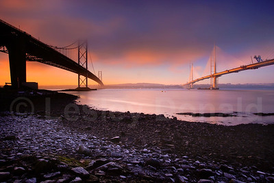 LDE_03  Two Bridges, Sunrise