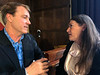 Richard chats with Maria<br /> Explorers Club Annual Meeting,  March 17, 2019